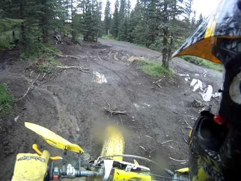 Mudding on 2 stroke dirt bikes