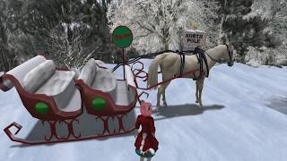 2017 12 14 VWT Second Life @ The North Pole Sleigh Ride Adventure, by North Pole Sleigh Ride Staff
