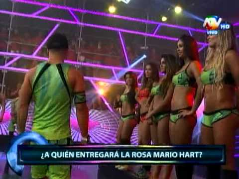 Mario Hart Entrega Rosa Vania Bludau