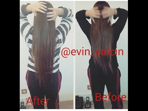 HOW TO GROW YOUR HAIR 2 INCHES OVERNIGHT (IN 16 HOURS!)   Evin Yalcin