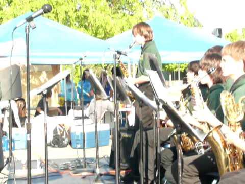 Sequoia Middle School B Jazz Band, Redding, CA