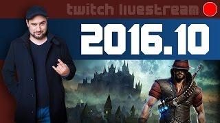 Livestream 2016 #10 - News, COOP Decrypted, Victor Vran