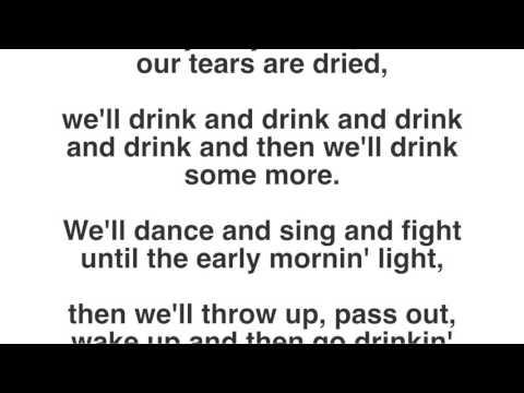 Da Vinci's Notebook Another Irish Drinking Song Lyrics