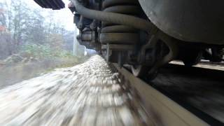 BDZ Cargo 43 546 - 1308 tons view from wheels