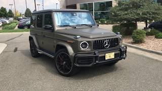 "2019 AMG G63 Video Tour (US Spec) with ""the bald guy"" at Mercedes-Benz of Westminster"
