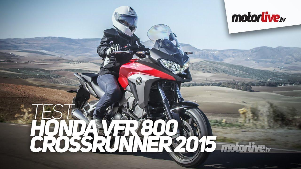 TEST | HONDA VFR 800 X CROSSRUNNER 2015 - YouTube