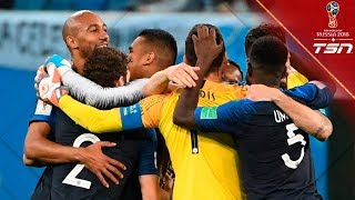 France ADVANCES to the World Cup Final!