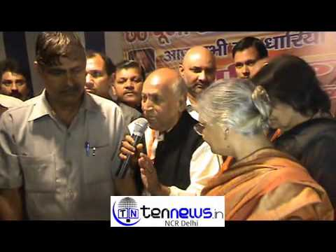 DELHI CHIEF MINISTER GREETED DEVOTEES PERFORMING CHHAT PUJA