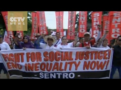 Workers hold May Day rallies across Southeast Asia