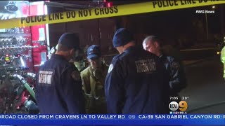 2 Killed When Flames Spread To Mobile Home In Hemet