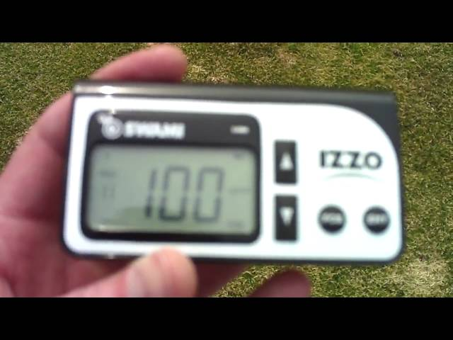 Izzo Golf Swami 1500 Golf GPS System On-Course Review