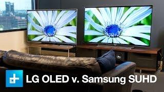 LG EG9600 vs Samsung JS9500 - Flagship TV Showdown