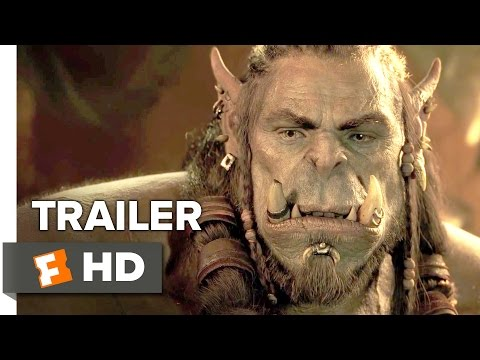 Cine-Warcraft Official Trailer #1 (2016) - Travis Fimmel, Dominic Cooper Movie HD