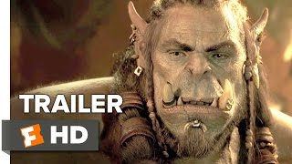 Video clip Warcraft Official Trailer #1 (2016) - Travis Fimmel, Dominic Cooper Movie HD