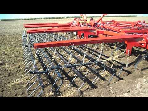 Sunflower soil finisher - Model 6333 at work during 2013 Fall tillage demo days