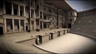 Ricostruzione virtuale in 3D del Teatro di Marcello - Virtual Theatrum Marcelli 3D reconstruction