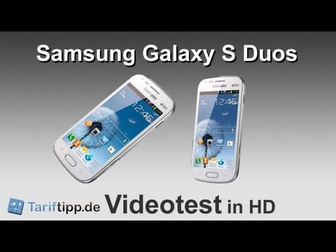 Samsung Galaxy S Duos   Handytest in HD (deutsch)