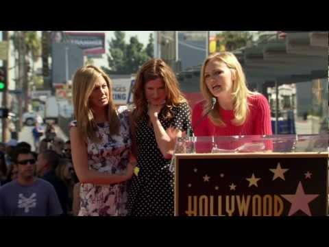 Jennifer Aniston - Hollywood Walk of Fame Ceremony - Malin Akerman's Speech