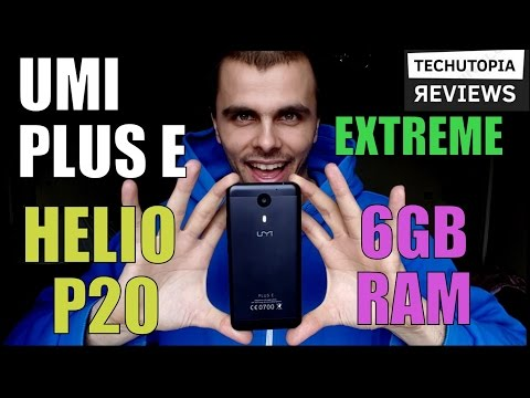 UMI Plus E Review/Helio P20/6GB RAM/Hands on/Gaming/Benchmark/Camera/Battery/Speed test/Extreme