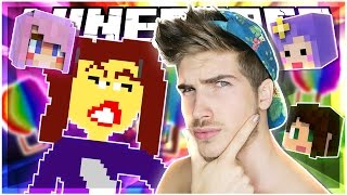 MIRANDA SINGS?! | PIXEL PAINTERS w/ STACY, LIZZIE AND TIFFANY! | Minecraft