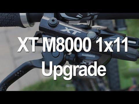 1x11 XT M8000 Upgrade / Install. Ride Impressions: i-Spec II. 11-42t. GS RD