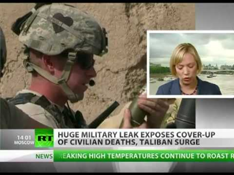 Wikileaks Exposes War Cover-ups