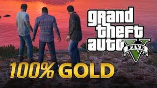 GTA 5 - A Opção C - Arriscar Tudo - Walkthrough (GTA 5 100% Gold Medal)