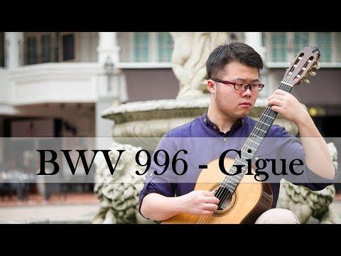 Бах Иоганн Себастьян - Lute Suite Gigue