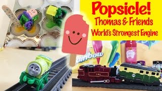 Thomas and Friends Popsicles - World's Strongest Engine Kids Toys Thomas the Tank Engine