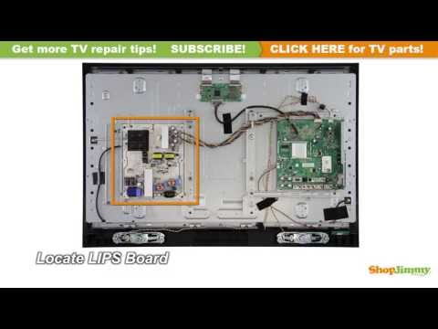 Vizio V 0500-0412-0770 Power Supply / Backlight Inverter Boards Replacement Guide LCD TV Repair