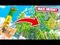 *MAX HEIGHT* SKYBASE DIVING in Fortnite Chapter 2!