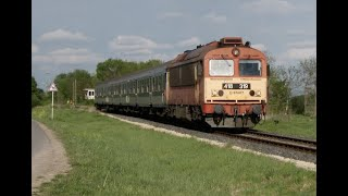 MAV Rails - North West Hungary & Lake Balaton - April 2019