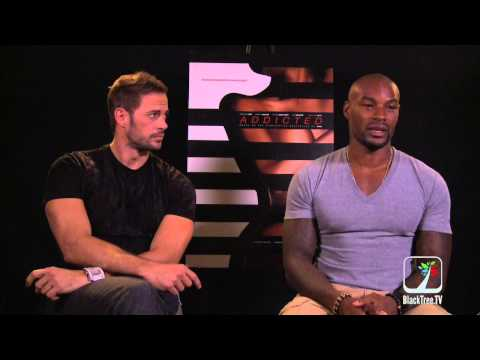 Addicted:  Tyson Beckford and William levy discuss sexy movie