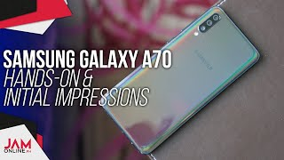 Samsung Galaxy A70 Hands-on and First Impressions