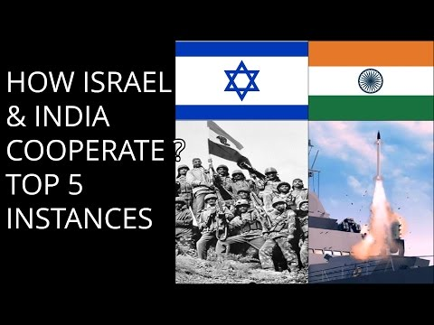 HOW ISRAEL & INDIA COOPERATE ? TOP 5 INSTANCES