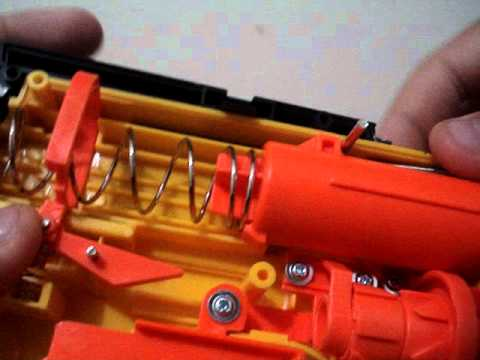 Como modificar sua nerf maverick rev-6