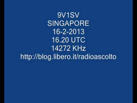 9V1SV AMATEUR RADIO STATION SINGAPORE
