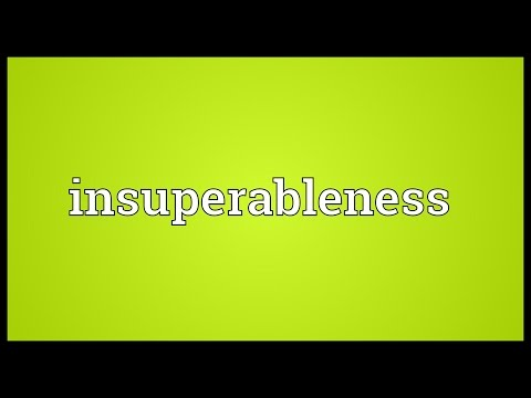 Header of insuperableness