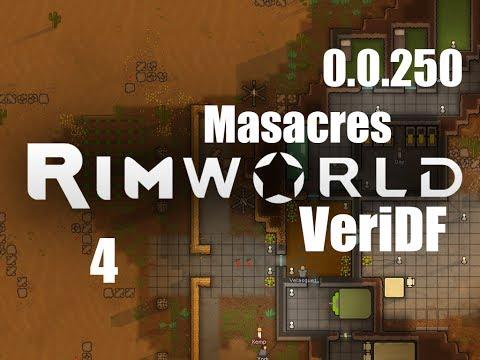 RimWorld en español 0.0.250 - Masacres!