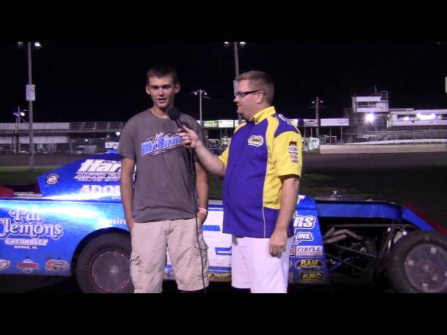 Jake McBirnie Sport Mod Feature winner 08/16/14