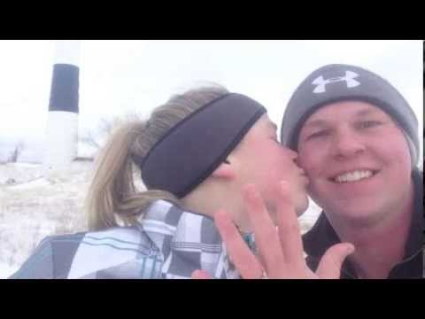 Brian & Stacey's GoPro Proposal, Big Sable Point Light House Ludington Mi. 1/30/2014