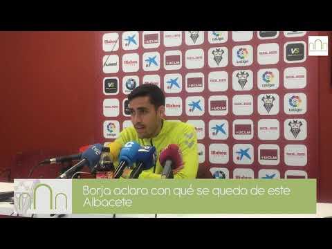 """Borja Herrera: """"El Albacete Balompié es una familia y por eso juegue quien juegue lo hace bien"""""""