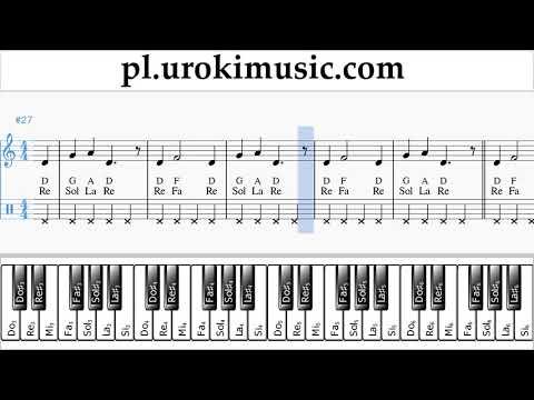 Nauka Gry Na Fortepianie (prawa Ręka) Nicky Jam Ft. Will Smith - Live It Up Nuty Poradnik Um-ih463