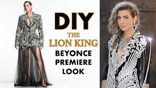 DIY: The Lion King BEYONCE Premiere Look! - By Orly Shani