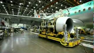 Making of a Boeing air plane