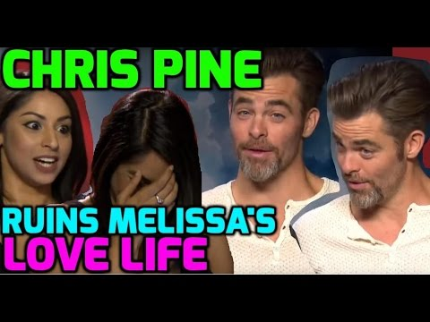 Chris Pine & Zachary Quinto tease reporter about her date