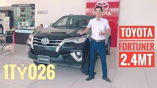 Toyota Fortuner 2.4MT 2019 nhập khẩu sập giá. Lắp 1 đống đồ giảm 1 mớ tiền mà vẫn chưa bán được.