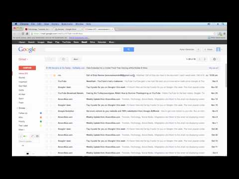 Google Drive Tutorial 2013 - Sharing Files and Folders (3/4)
