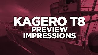 World of Warships - Kagero T8 Preview Impressions