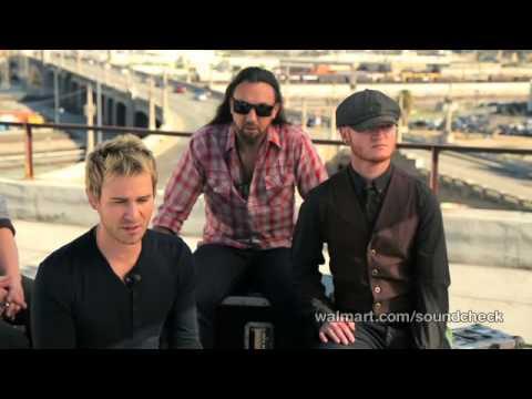 Lifehouse - Interview (Walmart Soundcheck)